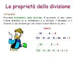 Le+proprietà+della+divisione