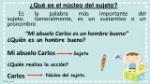 ¿Qué+es+el+núcleo+del+sujeto