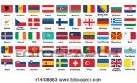 bandiere-europee-icone-clipart__k14438883