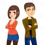 26546841-pareja-joven-enojado-dando-la-espalda-a-sí-después-de-la-pelea-que-mira-con-mirada-frustrada