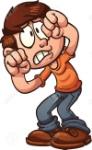 30714050-asustado-niño-de-dibujos-animados-protegiendo-su-cara-clip-art-ilustración-con-gradientes-simples-todo-en-
