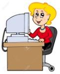 6839660-secretaria-de-dibujos-animados-sobre-fondo-blanco-ilustración-
