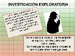 INVESTIGACIÓN+EXPLORATORIA