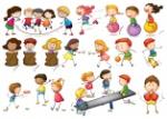 ilustracao-de-criancas-que-brincam-e-fazem-atividades_1308-1883
