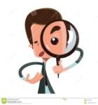 hombre-que-lleva-cabo-el-personaje-de-dibujos-animados-del-ejemplo-de-la-lupa-51836568