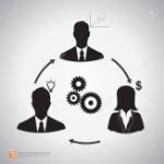36355403-relación-de-hombres-de-negocios-de-los-iconos-de-conexión-el-trabajo-en-equipo-con-las-flechas-el-concepto