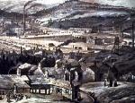 ciudad industrial inglesa del siglo XVIII  milltown