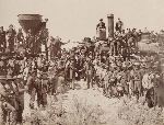 Celebration-of-the-meeting-of-the-Transcontinental-railroad-in-Promontory-Summit-Utah-May-1869