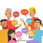 gente-hablando-distintos-idiomas-diseno-plano_23-2147864792