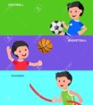 58222715-carácter-lindo-del-vector-de-fútbol-de-juego-infantil-baloncesto-un-niño-que-juega-con-una-cometa-un-niño-corre-