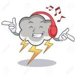 escuhando música