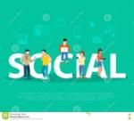 gente-plana-de-la-promoción-social-de-la-red-del-negocio-en-l-77705311