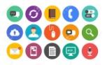 20857111-vecteur-collection-d-icônes-colorées-dans-un-style-moderne-et-design-plat-sur-la-communication-et-le-t