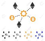 84520101-icono-de-nodos-de-red-de-cryptocurrency-el-estilo-de-la-ilustración-del-vector-es-símbolo-icónico-plano-con-