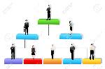 25663876-facile-à-modifier-vecteur-d-organisation-arbre-avec-un-niveau-de-hiérarchie-diffÃ