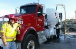 concrete truckdriver