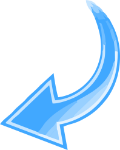 Blue-Curved-Arrow-Transparent-Pointing-Left