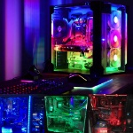 Magnetic-RGB-LED-Strip-Light-Full-Kit-for-PC-Computer-Case-SATA-power-supply-interface-Fixed