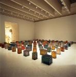 rachel whiteread - one hundred spaces 1997