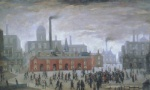 an accident - LS  Lowry