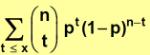 distribucion de probabilidad binomial acumulada 2