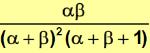 media y varianza distribucion beta_varianza