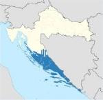 mappa dalmazia