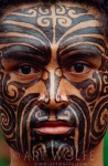 tribal-culture-Maori-Ta-Moko-tattoo-on-face