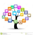 social-media-tree-vector-illustration-44271494