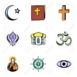 74623365-religión-conjunto-de-iconos-de-cultura-estilo-de-dibujos-animados