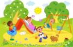 9707979-animación-dibujo-animado-de-ilustración-de-niños-jugando-juntos-en-el-parque-