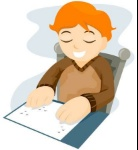 4101945-braille-reading-with-clipping-path
