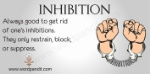 inhibition