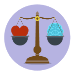scales-heart-brain-lifevalues