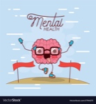 mental-health-poster-of-brain-cartoon-with-glasses-vector-17784273