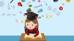 cartoon-animation-of-a-girl-student-is-reading-education-book-on-her-desk-in-class-with-science-maths-chemistry-engineering-physics-art-and-creative-knowledge-icon-until-graduation-in-1920x1080-hd_eauavroag__F0014