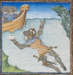 medieval-swimming