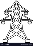 electric-pole-icon-outline-style-vector-13221237