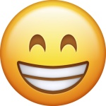 emoji--molto-sorridente