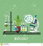 biology-laboratory-workspace-science-equipment-microscope-conceptual-scientific-research-vector-illustration-flat-design-74220463