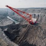 miniera carbone cielo aperto