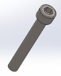 ISO 4762 - M6 x 45 - 8.81