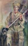 К.С. Девлеткильдеев Башкир-охотник на медведя 1928 г.