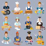 66325375-profesiones-de-recolección-mecánico-de-automóviles-cocinero-carpintero-lavandera-electricista-juez-médico-farm