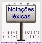 notações léxicas