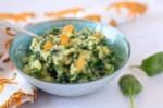 Spinaziepuree-met-munt-en-blanke-rozijnen-Anniepannie