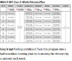 Training Plan Example