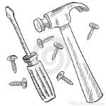construction-tools-sketch-22337773