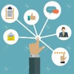56219541-la-gestión-de-las-interacciones-cliente-usuario-vector-concepto-de-sistema