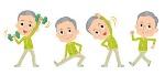 หลักการออกกำลังและข้อควรระวังในการออกกำลังสำหรับผู้สูงอายุ